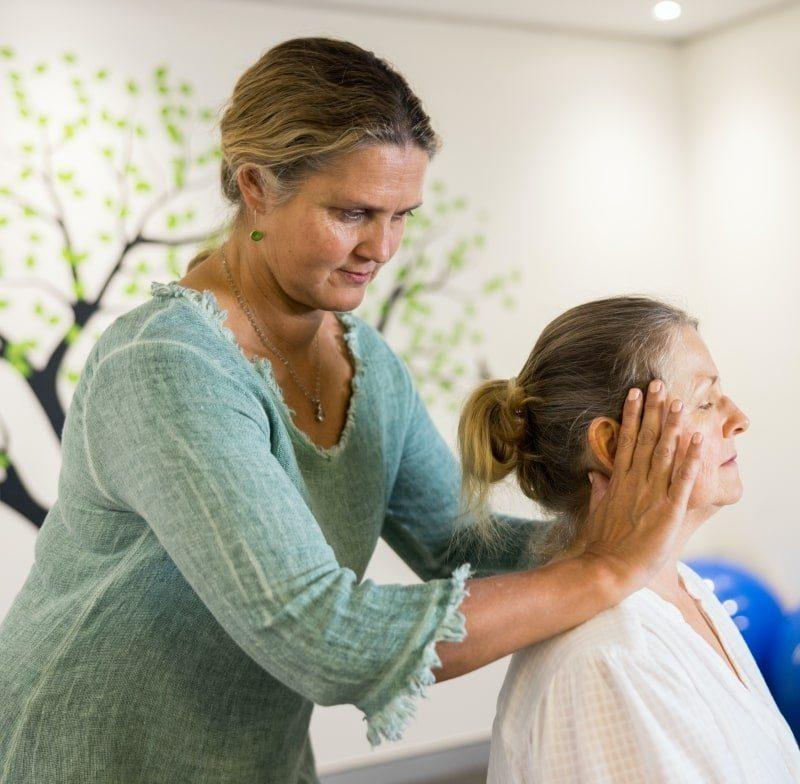 Wendy Madgwick practicing bodywork in Brisbane